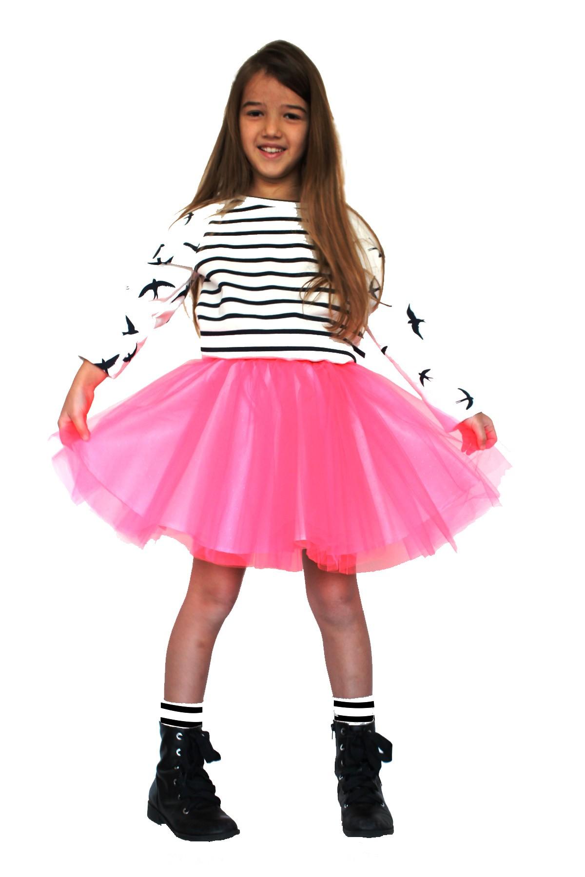 Girls Tulle Skirt Dress